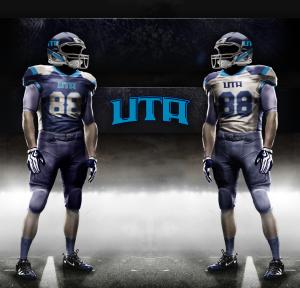 UTA Uniforms Navy-Columbia 6